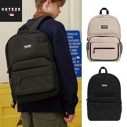 [VETEZE] Signature Backpack ベテゼ リュック 通学 A4 大容量 大人かわいい バックパック レディース メンズ 韓国ファッション