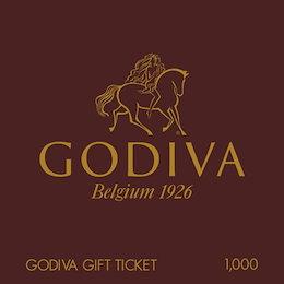 【giftee】GODIVA (ゴディバ)ギフト券(1000円)