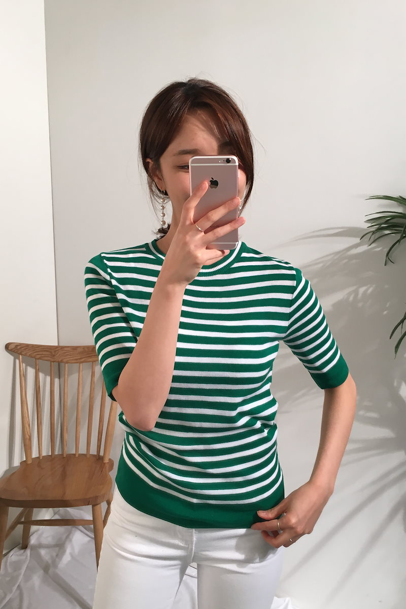 フェアダンガラニットトップkorea fashion style