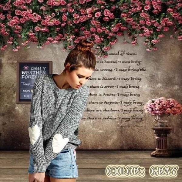 女性ファッションロングスリーブファッションCrewneckセーター