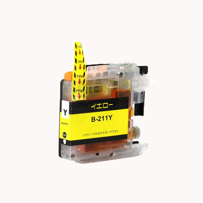 LC211Y 単品 イエロー BR社 プリンター用互換インク ICチップ付 残量表示