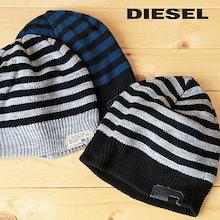 ディーゼル DIESEL ニットキャップ 帽子 メンズ ボーダー柄 ニット帽 K-GROF die-m-a-78-308