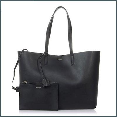 [・サン・ローラン]・ペールブルロスィトートバッグ394195 CSV0J 1000 /トートバッグ / 韓国ファッション / Tote bags