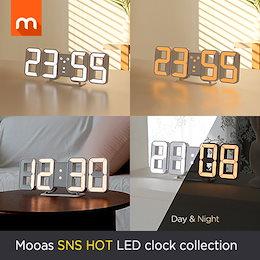 [Mooas]ピュアミニLED時計 コレクション / LED時計 / ホーム インテリア / SNSの人気商品