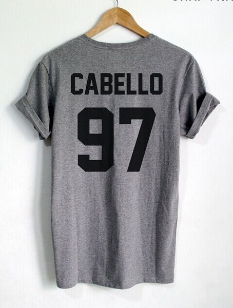 Camila cabello T Shirt CABELLO 97 Shirt Camila cabello 1997 Year of Birth Shirt Women T Shirt Casual