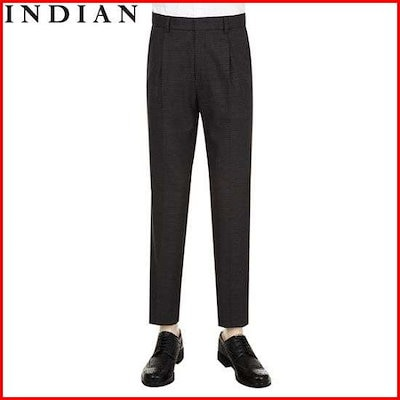 [インディアン][インディアン(INDIAN)]ソウル混紡チェックパターン・パンツMITDLRCB20125 /パンツ/マイン/リンデンパンツ/韓国ファッション