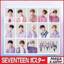 [thesaem]×[SEVENTEEN] SEVENTEEN THESAEM POSTER [ ポスター ][丸めて発送][メンバー選択可][セブンティーン][ザセム]