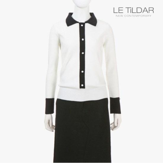 ルティルダ配色カラニット ニット/セーター/カラーニット/韓国ファッション
