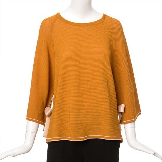 ケネス・レディーヤンドゥリボンプルオーバーニートEKPOHG01 ニット/セーター/韓国ファッション
