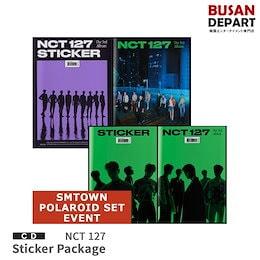 SMポラロイドセット特典付 初回ポスター NCT 127 正規3集 Sticker Package