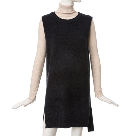 ケネス・レディーロングチョッキニートEKPOHK15 ニット/セーター/韓国ファッション