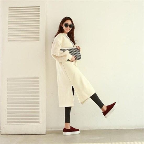 ピピン行き来するようにピピンチョークウール小売ワンピース35026 プリントのワンピース/ 韓国ファッション