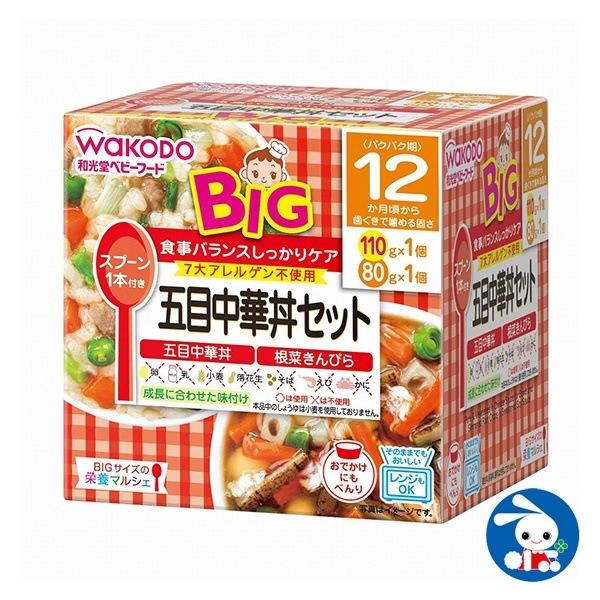 BIGサイズの栄養マルシェ 五目中華丼セット 110g+80g