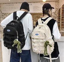 韓国リュック/大容量カジュアルバッグ学生バッグ/修学/通勤通学かごバッグ