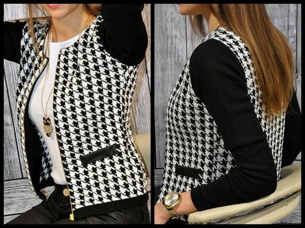 冬の女性のジャケットの気質のハングトゥースステッチスリムショートコート