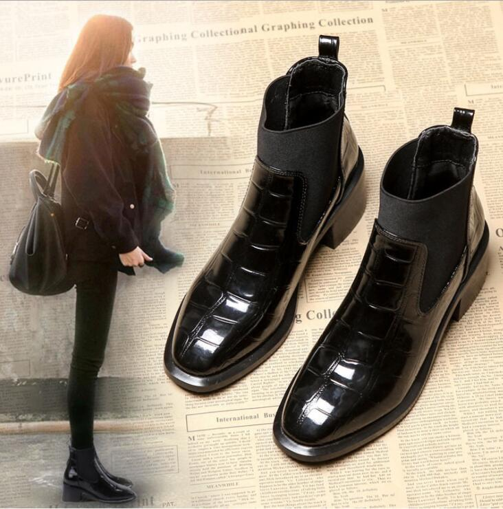 クーポン適応可能 入学式 卒業式 袴 ブーツ ショートブーツ レディース サイドゴアブーツ 22-25cm ブーティー レディース スクエアトゥ シンプル ショート ブーツ ヒール ブーティー
