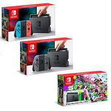 ニンテンドースイッチ Nintendo Switch (グレー、ネオンブルー ネオンレッド