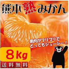 今だけタイムセール特価!!【熊本みかん】プリっとした果肉が毎年大好評!!★ 訳あり 8kg 熊本の自然が生み出す、おいしいミカンです!