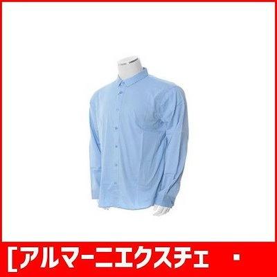 [アルマーニエクスチェンジ]男性スリムシャツ(A418120015) /ソリッドシャツ/ブラウス/ 韓国ファッション