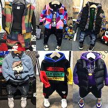 韓国ファッション 子供服 セットアップ パーカー ニット パーカー ズボン 人気デザイン集め 裏起毛