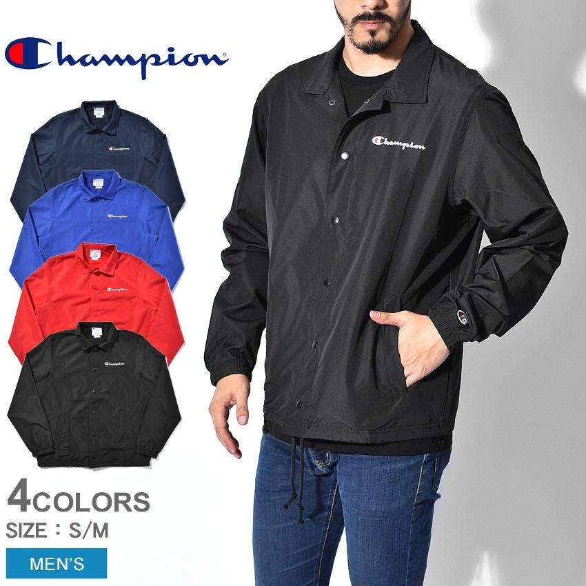 CHAMPION チャンピオン ジャケット クラシック コーチジャケット V4504 メンズ ブランド 服 白 黒
