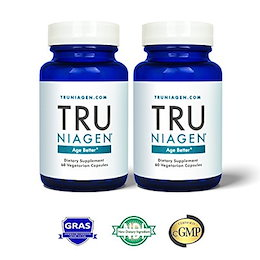 TRU NIAGEN - Niacin (Vitamin B3) | Advanced NAD+ booster | Nicotinamide Riboside NR | Increases Ener