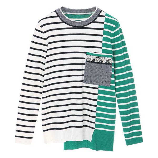 [韓国直送] 【オンエンオン] color stripe knit NK8SP554