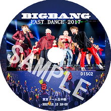BIGBANG LAST DANCE Japan DOME Tour 2017 / 東京 2017.12.13 / GD / VIP / DVD / KPOP