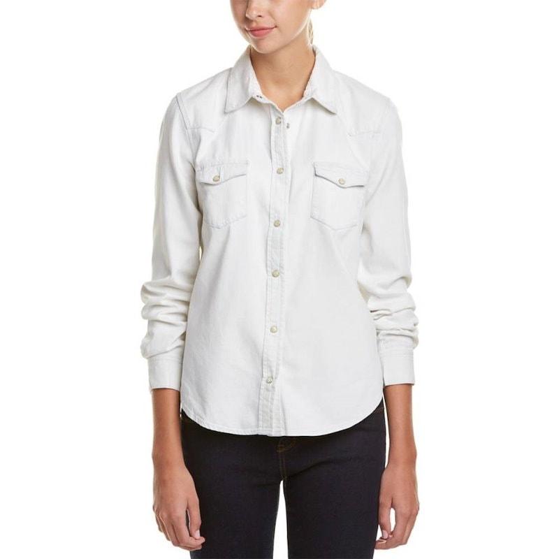 フレンチコネクション レディース トップス カジュアルシャツ【French Connection Classic Western Shirt】White
