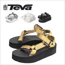 【TEVA/テバ】 FOOTWEAR フットウェア W FLATFORM UNIVERSAL フラットフォームユニバーサル 1008844 ウィメンズ サンダル アウ