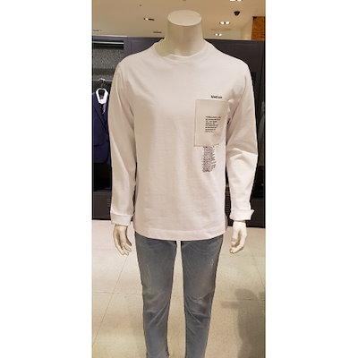 [AK公式ストア]【SIEG] 19年SSホワイトレザーラウンドTシャツ[PXI8008]