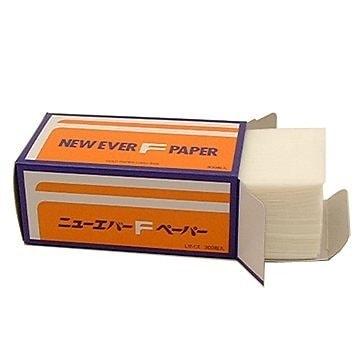 【送料無料】ニューエバー F ペーパー S 300枚 美容室 業務用 パーマ用品 Sサイズ くり返しタイプ コールドペーパー