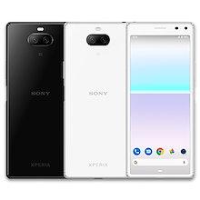 【日本正規代理店品】 ソニーSONY Xperia 8 Lite J3273 ホワイト ブラック White  black   日本国内版simフリー