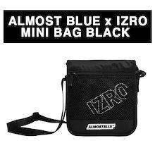 EXOチャニョル・セフン着用 クロスバック♥ALMOST BLUE x IZRO MINI BAG_BLACK 送料無料/韓国ファッション/即日発送/バック