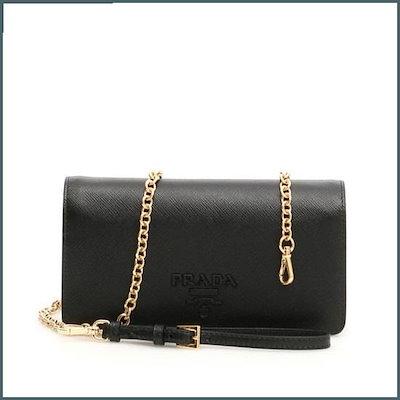 [プ ラ ダ]モノクロームサフィアーノミニバック1DH029 2EBW F0002 /トートバッグ / 韓国ファッション / Tote bags