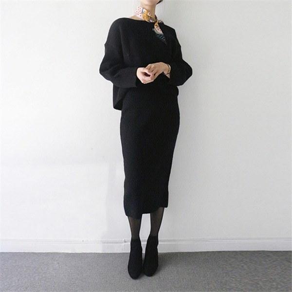 ニットスーツ3colornew 女性ニット/ラウンドニット/韓国ファッション