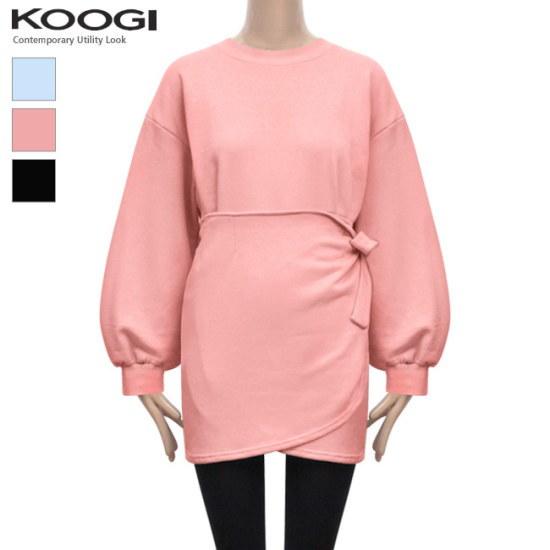 釘宮メントゥメンレプワンピースKL1OP120A 綿ワンピース/ 韓国ファッション