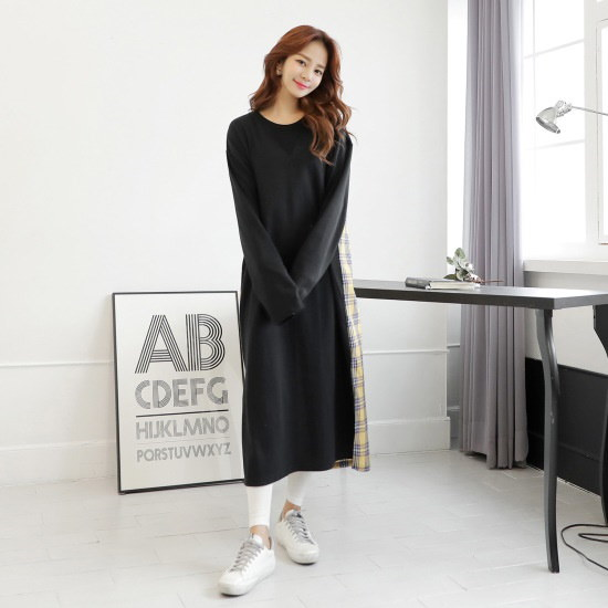 クルリクエンミ偶然春ワンピース 綿ワンピース/ 韓国ファッション