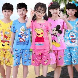 2019新しい/子供のパジャマ/男の子のパジャマ/女の子のパジャマ/ nightdress /かわいいパジャマ/ホームサービス/スカート/長袖の女の子かわいい漫画/小学校の服/ 2-15歳の子供のパ