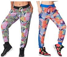 ZUMBA ヨガ パンツ ズンバウェア トレーニング フィットネス エアロビクス ズボン エアロビクスウェア ランニングウェア 美脚 ダンス衣装 ズボン
