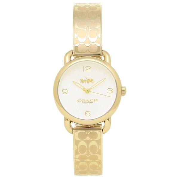 コーチ 時計 COACH 14502892 DELANCEY デランシー レディース腕時計ウォッチ シルバー/イエローゴールド