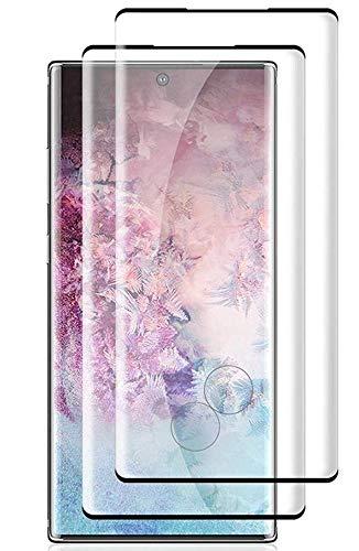 Galaxy Note10 Plus Note10フィルム【2枚】ギャラクシー Galaxy Note10 Plus Note10 SCV41 SC-03L強化ガラスフィルム【3Dラウンドエッジ加工に