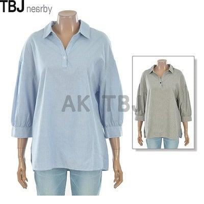 TBJ[AK公式ストア][TBJ] [TBJ]レディースバフェット7点シャツ(T182SH600P)