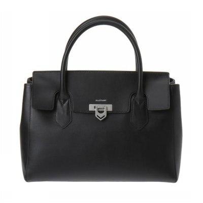 [JILLSTUART ACC] JABA7E125BK Black Leather Tote Bag