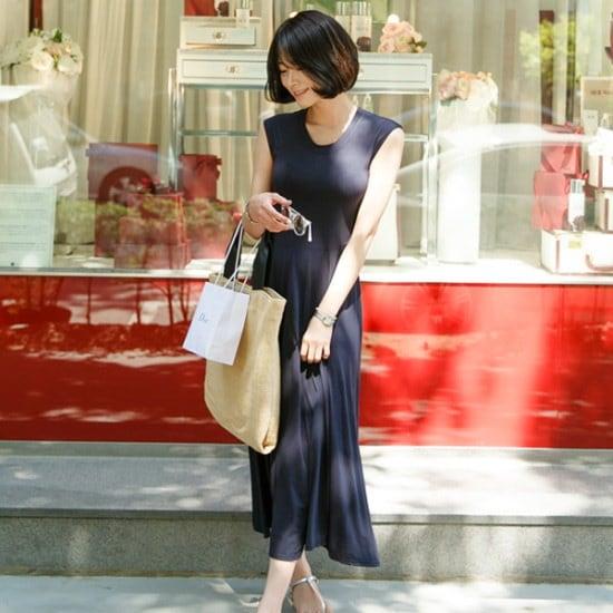 アーバンフランレドトゥロングワンピース 綿ワンピース/ 韓国ファッション
