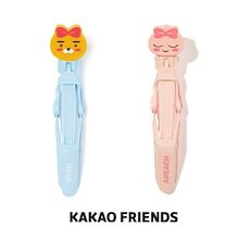 【Kakao friends】カカオフレンズワニヤットコピン2個セット/Kakao friends crocodile hair pin/2種・KAKAO FRIENDS正規品
