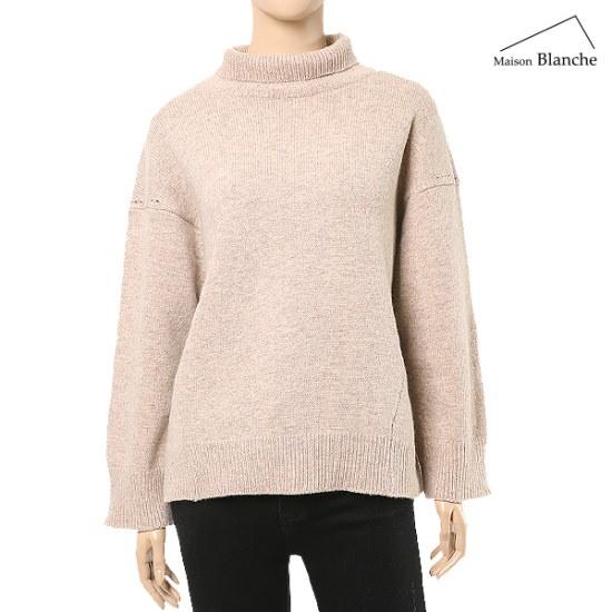 メゾンブルランスィウルケシのポーラー・ニットM174TSWB03 ニット/セーター/韓国ファッション