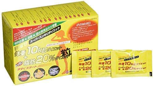目指せ体重10kg+ドッカン脂肪20%ダイエット粒 6粒 75袋入