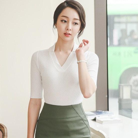 オッドカラブイネク・ニットTPI082 ニット/セーター/ニット/韓国ファッション
