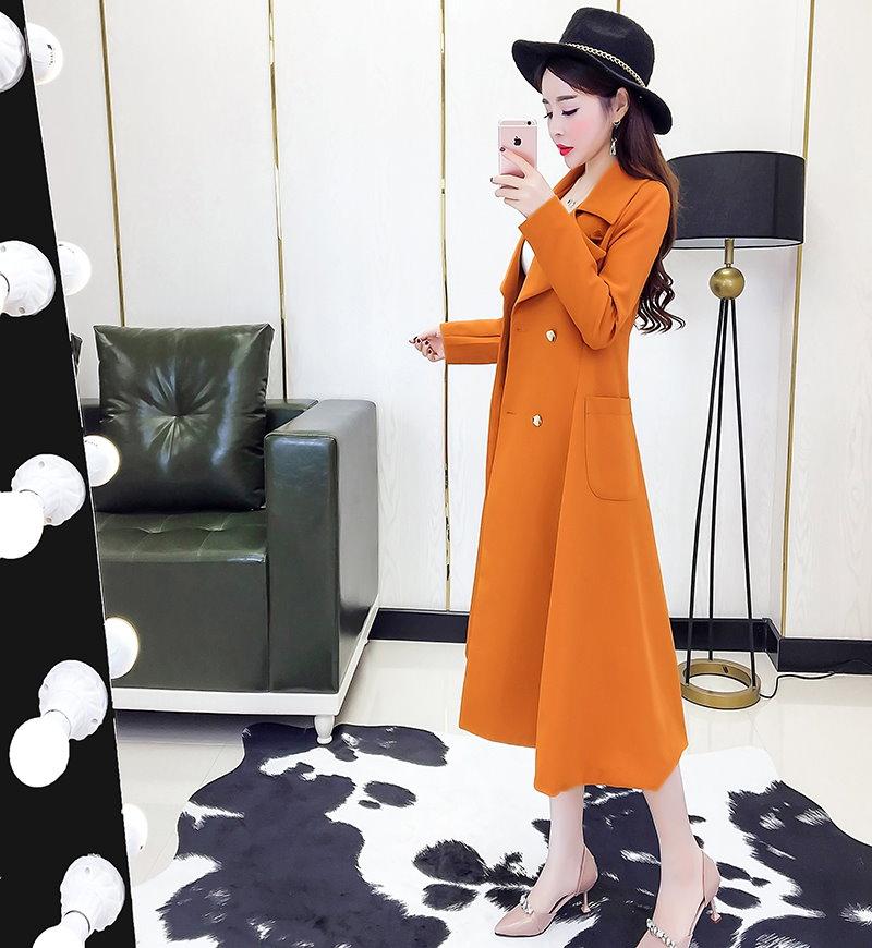 [55555SHOP]韓国ファッション レディース チェスターコート 防寒 ロングコート 中綿入り 暖か トレンチコート Aライン 秋冬 アウター